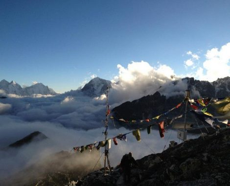High in the Himalayas
