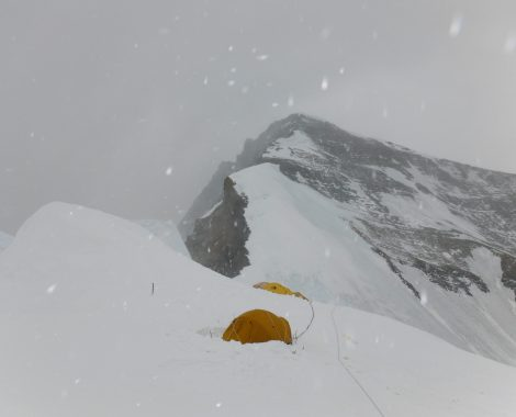 My Tent on north col 7200 meters